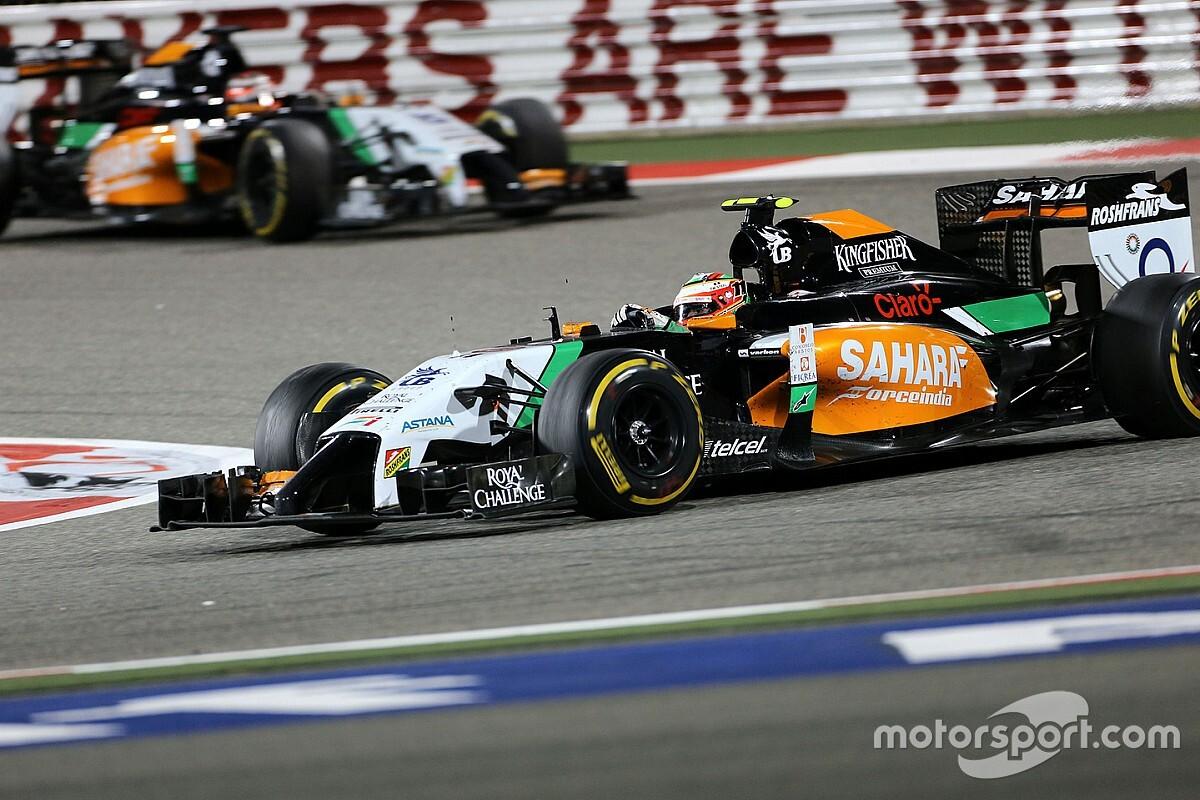 Perez: Financiële problemen Force India vanaf eerste dag in 2014
