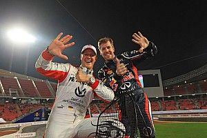 """فيتيل ما زال يرى شوماخر """"كأعظم سائق"""" عاصره في الفورمولا واحد"""
