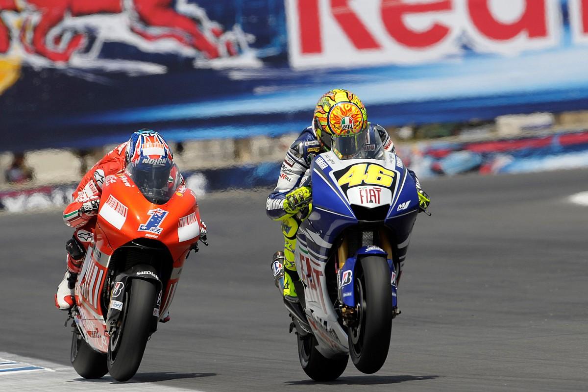 Laguna Seca 2008, une confrontation déterminante pour Rossi et Stoner