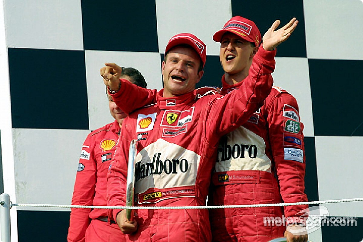 """Ma 8 éve köszönt el a Forma-1-től Barrichello, az """"örökifjú"""" brazil"""