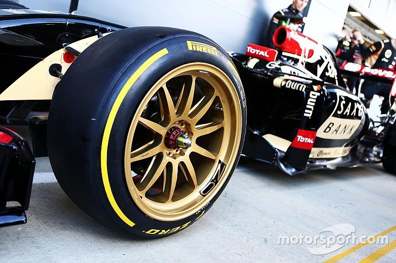"""Pirelli: """"F1 drie seconden sneller met 18 inch velgen"""""""
