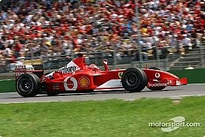 Video: Het verhaal achter de succesvolle F2001B van Michael Schumacher