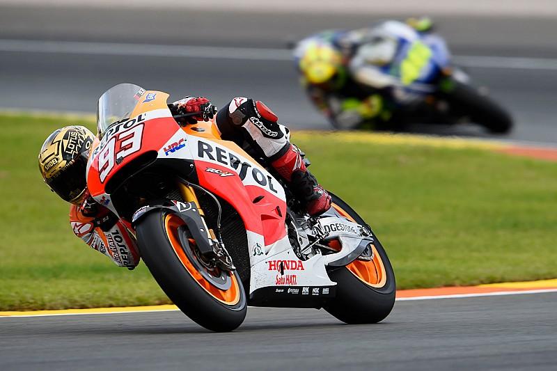 El nivel de Márquez le recuerda a Rossi la temporada 2014 de MotoGP