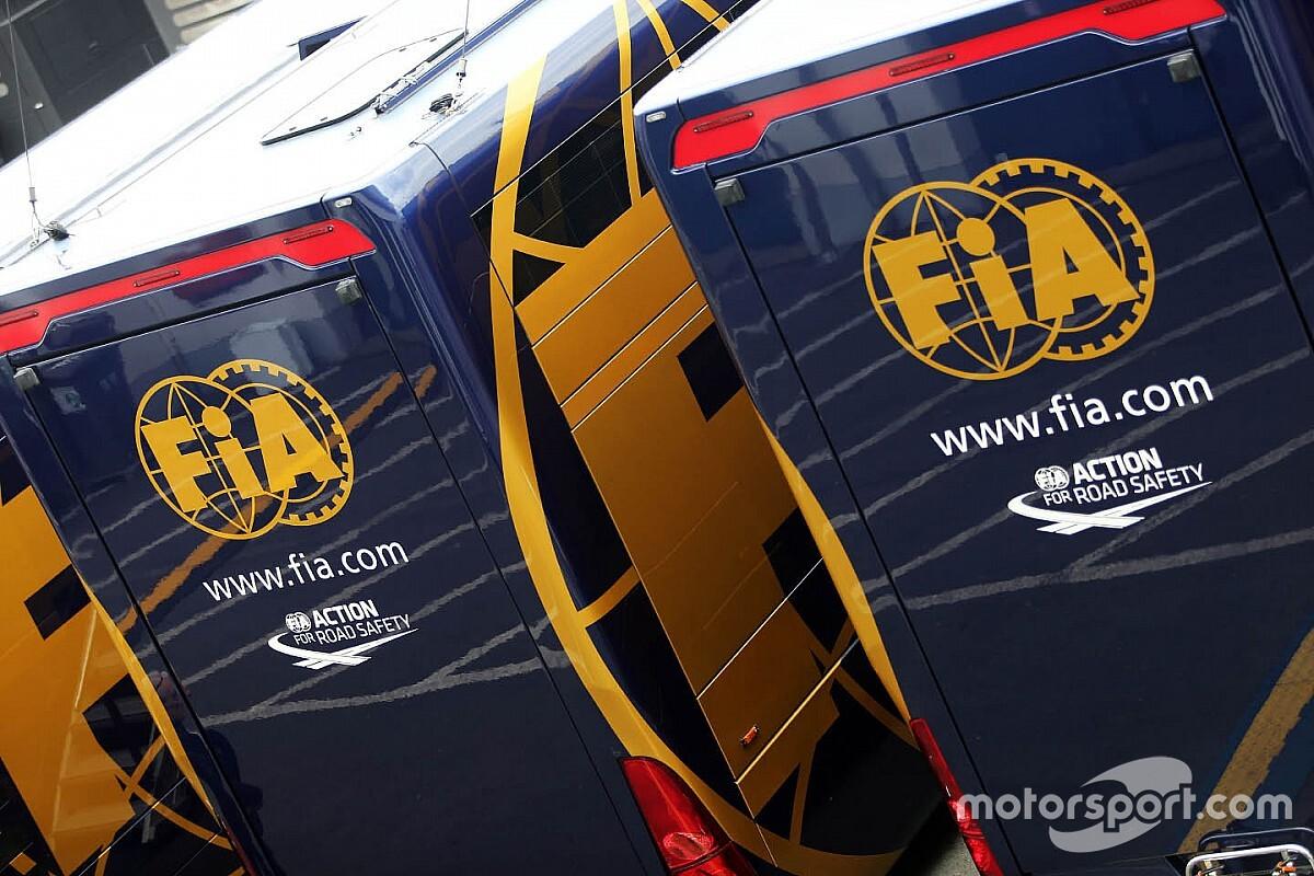 Új szabály az FIA sportkódexében: Védelmi intézkedés különleges esetekben