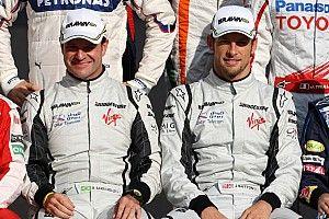 """Button diz que Barrichello foi seu melhor companheiro de equipe """"tecnicamente"""" na F1"""