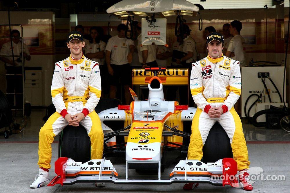 Грожан: Алонсо уже возвращался в Renault – вышло неудачно