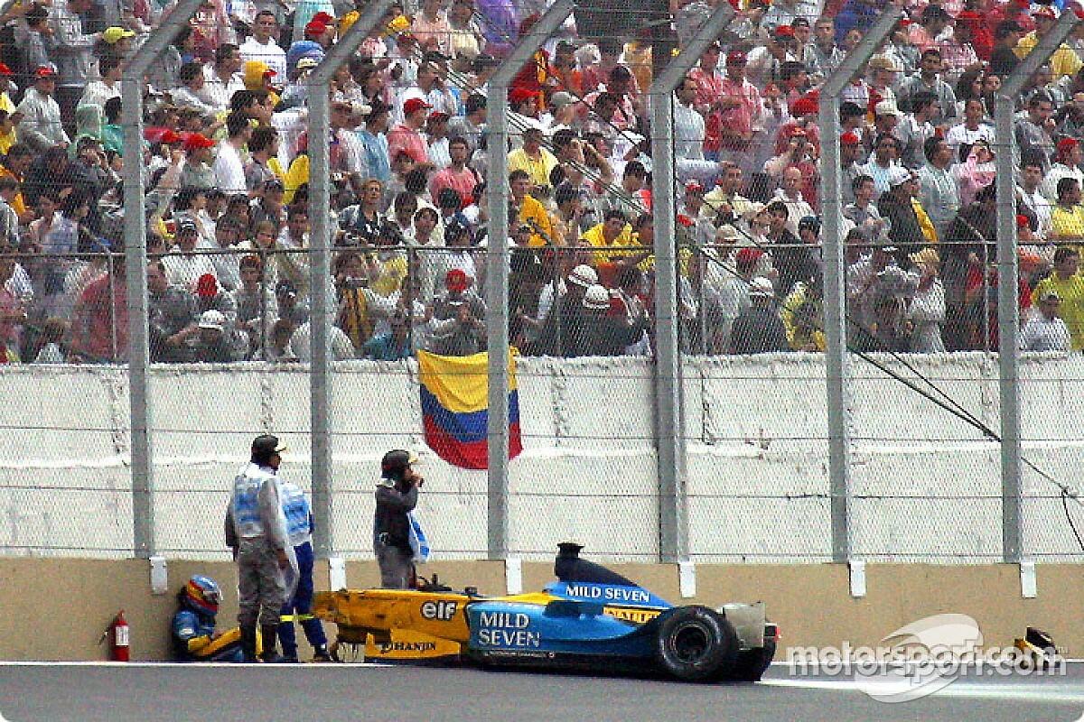 Los accidentes más duros que sufrió Alonso en la Fórmula 1