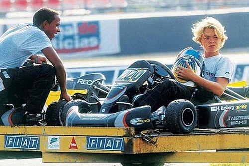 GALERÍA: La trayectoria de Nico Rosberg en imágenes