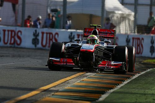 El día que Pérez debutó con McLaren