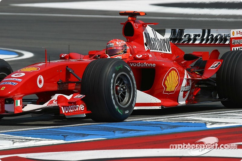 Mick Schumacher pilotará el Ferrari F2004 de su padre en Alemania