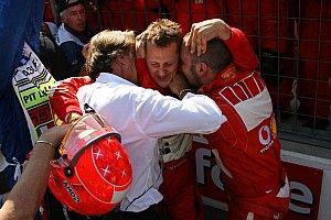 Montezemolo, kazadan bu yana Schumacher'i hiç görmemiş