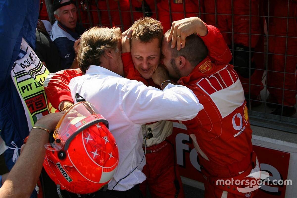 Montezemelo: Schumacher baba olarak da bir manyak gibiydi ve onun DNA'sı hâlâ Ferrari'de