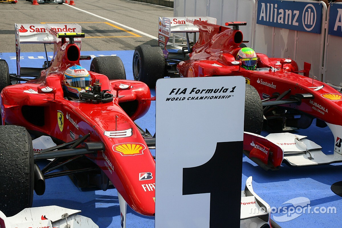 F1 tarihinde bugün: Ferrari, Massa'dan Alonso'ya yol vermesini istiyor