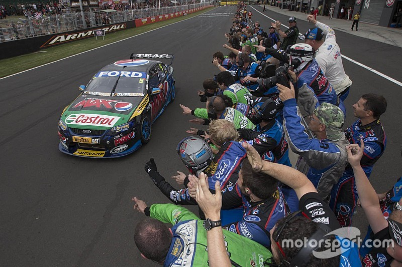 Bathurst-winning Ford appears on used car website