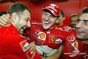 GALERÍA: Schumacher y un luchado sexto título en 2003