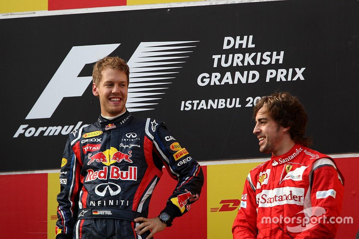 """Vettel: """"Alonso es un superhombre"""""""