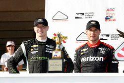 Podium: ganador, Will Power, Team Penske Chevrolet, segundo, Josef Newgarden, Team Penske Chevrolet