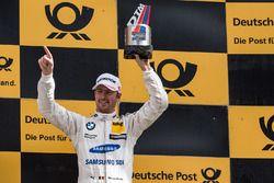 Podium: le troisième Maxime Martin, BMW Team RBM, BMW M4 DTM