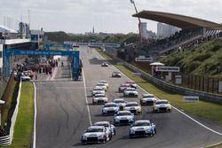 Start van de Audi Sport TT Cup