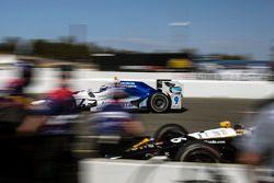 Scott Dixon, Chip Ganassi Racing Honda, Takuma Sato, Andretti Autosport Honda