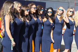 De charmantes gridgirls