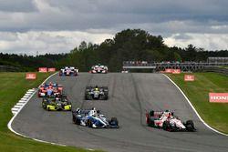 Sébastien Bourdais, Dale Coyne Racing Honda, Max Chilton, Chip Ganassi Racing Honda