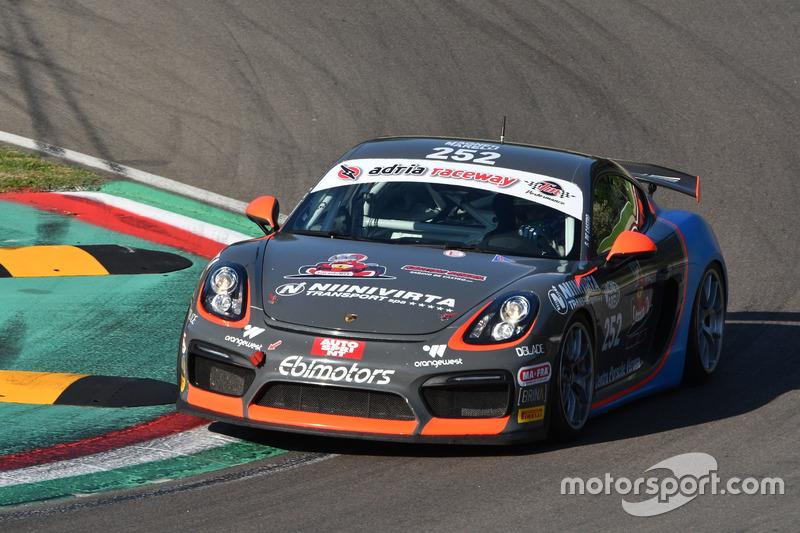 Sabino Marco De Castro, Ebimotors, Porsche Cayman-GT4