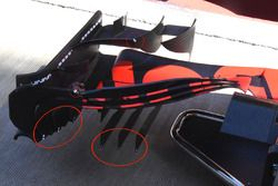 Aileron avant de la Red Bull Racing RB13