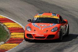 #18 RS1 Porsche Cayman: Connor Bloum, Aurora Straus
