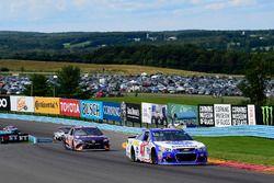 A.J. Allmendinger, JTG Daugherty Racing Chevrolet, Denny Hamlin, Joe Gibbs Racing Toyota