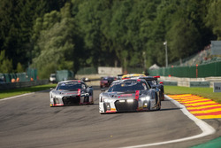 #76 Audi Sport Team ISR Audi R8 LMS: Pierre Kaffer, Kelvin van der Linde, Frank Stippler