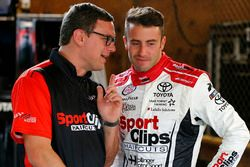 James Davison, Joe Gibbs Racing Toyota, Christopher Gabehart