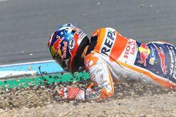 Dani Pedrosa, Repsol Honda Team, chute