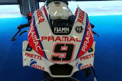 Danilo Petrucci, Pramac Racing, dettaglio della nuova carena