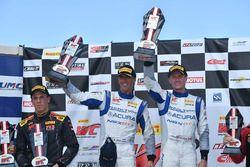 Race winners Peter Kox, Mark Wilkins, RealTime Racing