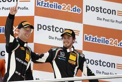Podium: Sieger #19 GRT Grasser Racing Team, Lamborghini Huracán GT3: Ezequiel Perez Companc, Mirko B