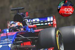 Scuderia Toro Rosso STR12, detail
