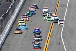 Brennan Poole, Chip Ganassi Racing Chevrolet, Ty Dillon, Richard Childress Racing Chevrolet, Joey Lo