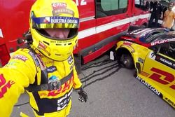 Tom Coronel, Roal Motorsport, Chevrolet RML Cruze TC1 after crash