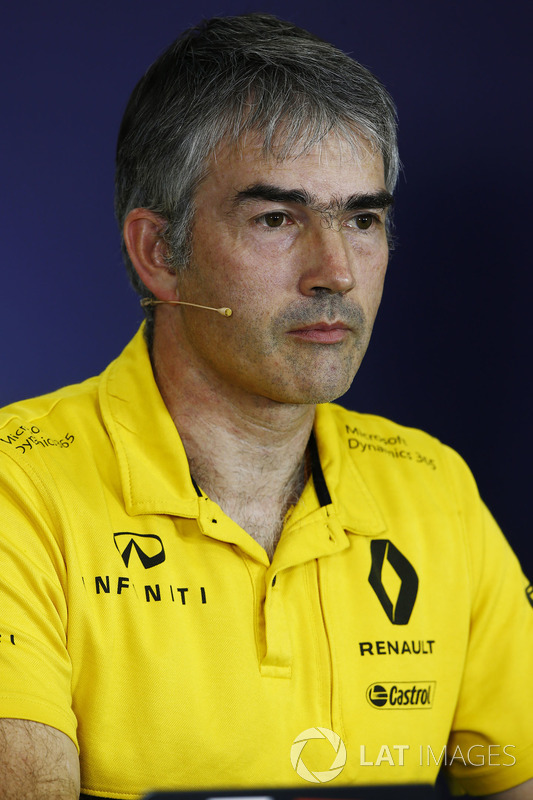 Nick Chester, Renault-Tecnikchef
