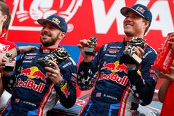 Podium: Bryce Menzies, Peter Mortensen, X-Raid Team