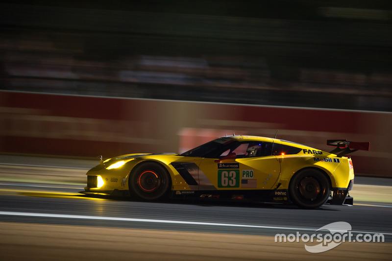 Третье место GTE Pro: Corvette C7.R №63
