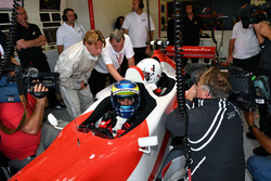 Zsolt Baumgartner, F1 Experiences 2-Seater driver with Woody Harrelson, Actor