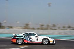 #8 Dragon Racing Porsche Cayman GT4: Bill Martin, Matthew Swanepoel