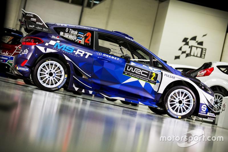 Ott Tanak, M-Sport Ford Fiesta WRC 2017