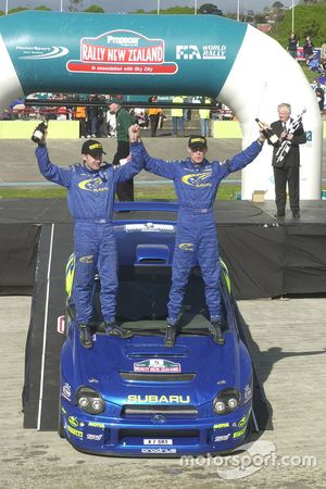 1. Richard Burns, Robert Reid, Subaru Impreza WRC