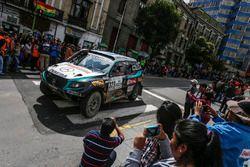 №329 Colcar Mercedes: Хуан Сильва и Серхио Лафуэнте