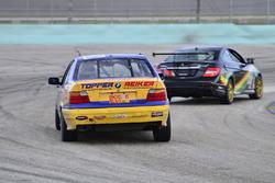 #22 MP3A Mercedes C250 AMG Sport driven by Victor Haye & Hartmut Feyhl of Massive Motorsport, #810 M
