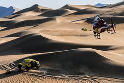 Acción del Dakar Series Rally de China