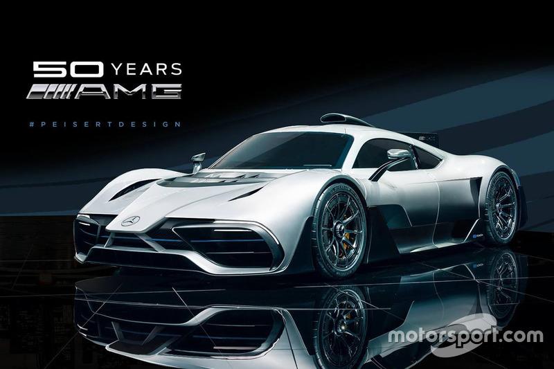 Mercedes AMG Project One F1 burun